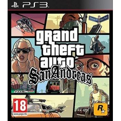 GRAND THEFT AUTO SAN ANDREAS PS3 FR OCCASION
