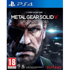 METAL GEAR SOLID V GROUND ZERO PS4 UK OCCASION