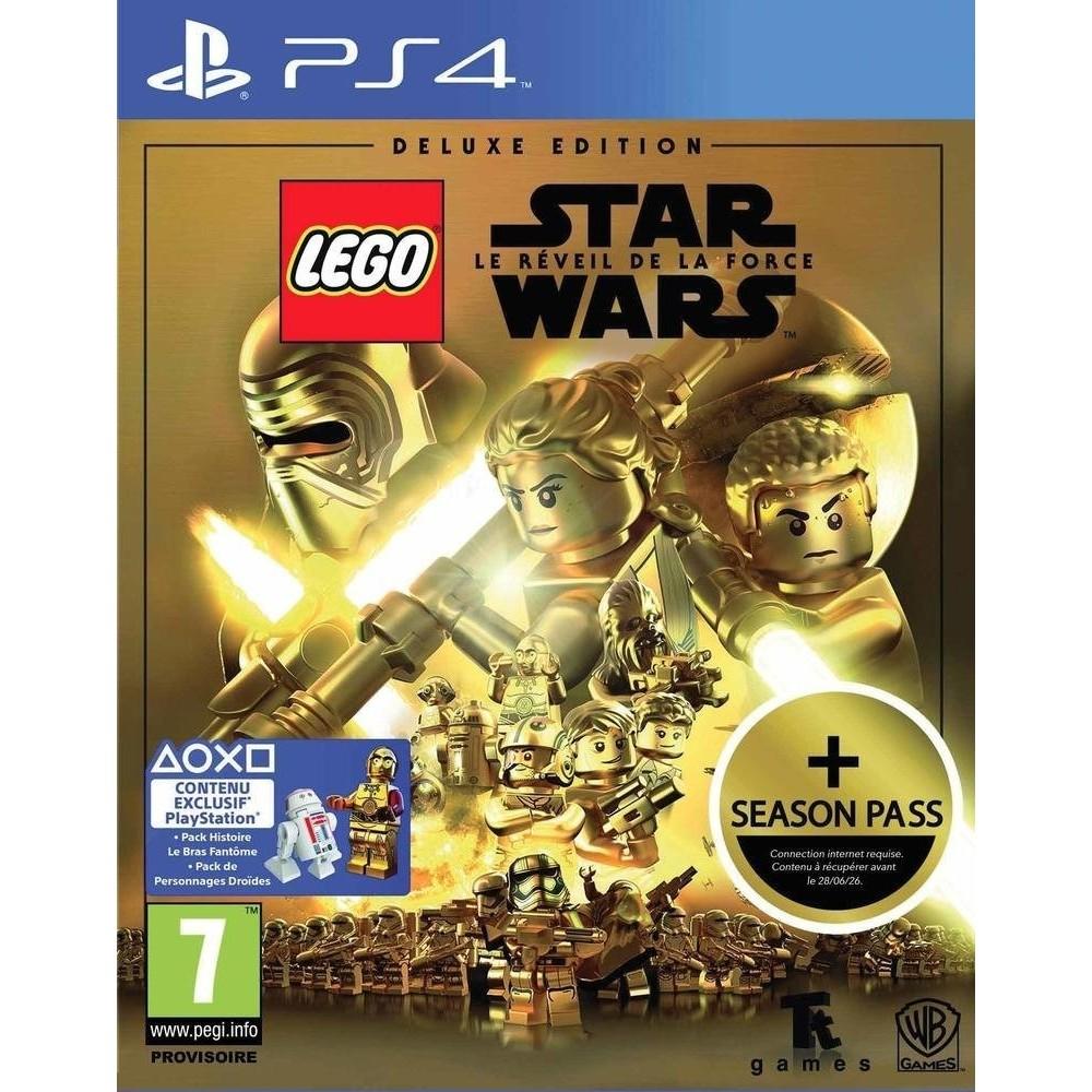 LEGO STAR WARS LE REVEIL DE LA FORCE DELUXE EDITION PS4 PAL FR NEW