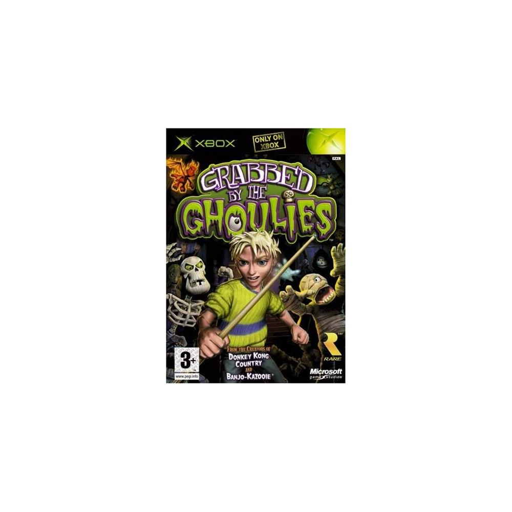 GRABBED BY THE GHOULIES XBOX PAL-FR OCCASION