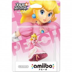 AMIIBO SUPER SMASH BROS PEACH JAP NEW