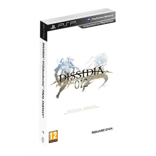 DISSIDIA 012 (DUODECIM) FINAL FANTASY EDITION LEGACY PSP FR OCCASION