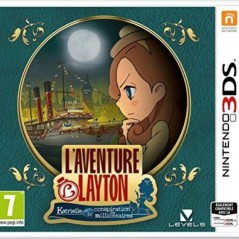 LAYTONS MYSTERY JOURNEY KATRIELLE AND THE MILLIONAIRES CONSPIRACY 3DS UK NEW