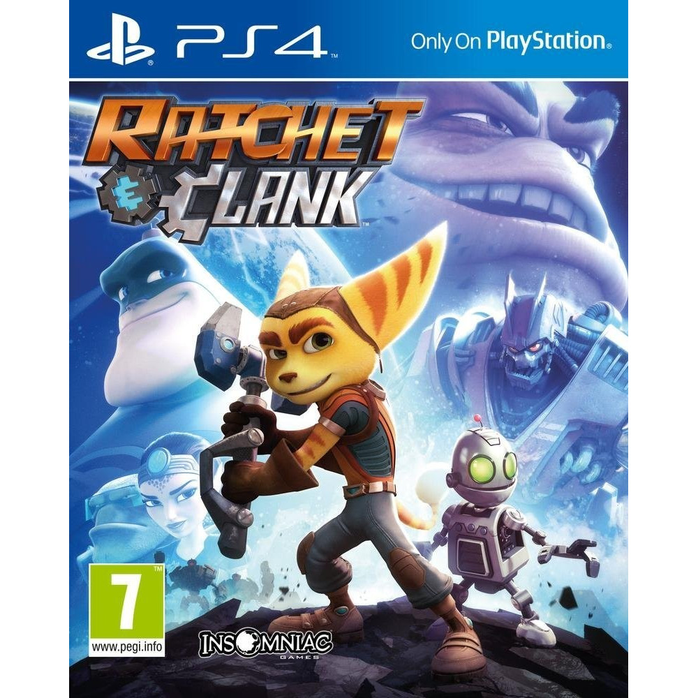 RATCHET AND CLANK PS4 EURO FRANCAIS OCCASION