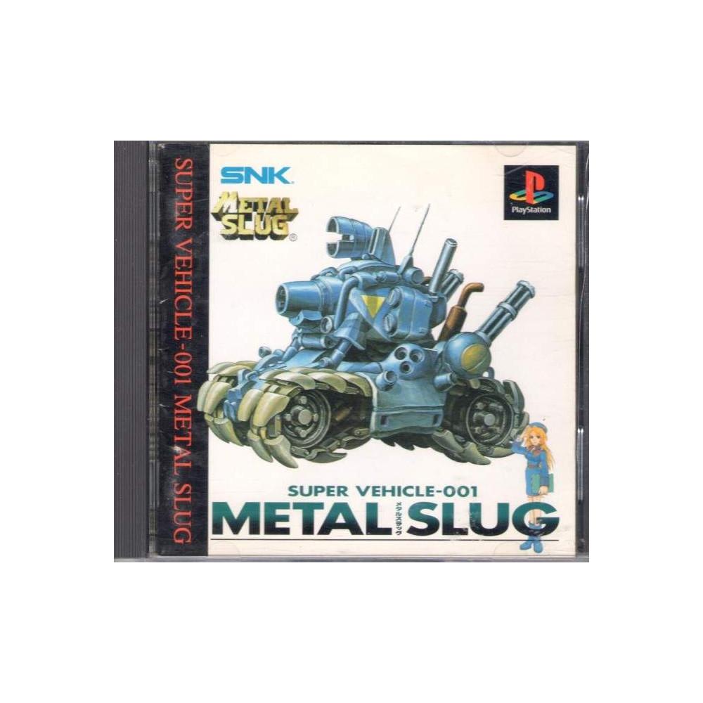 METAL SLUG PS1 NTSC-JPN OCCASION