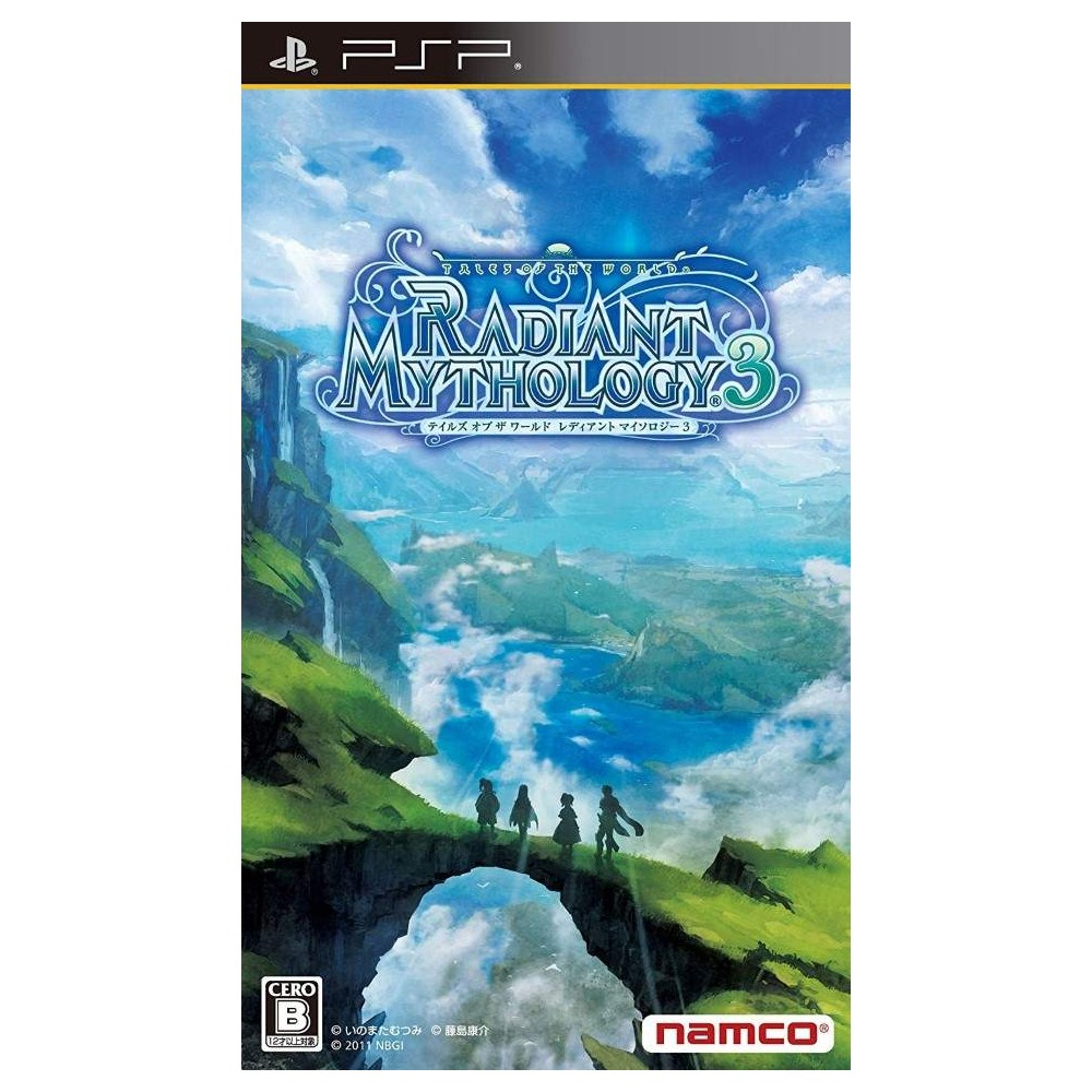 TALES OF THE WORLD RADIANT MYTHOLOGY 3 PSP JPN OCCASION