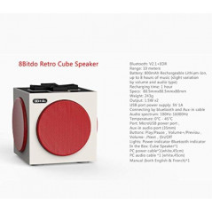 8BITDO RETRO CUBE SPEAKER EURO NEW