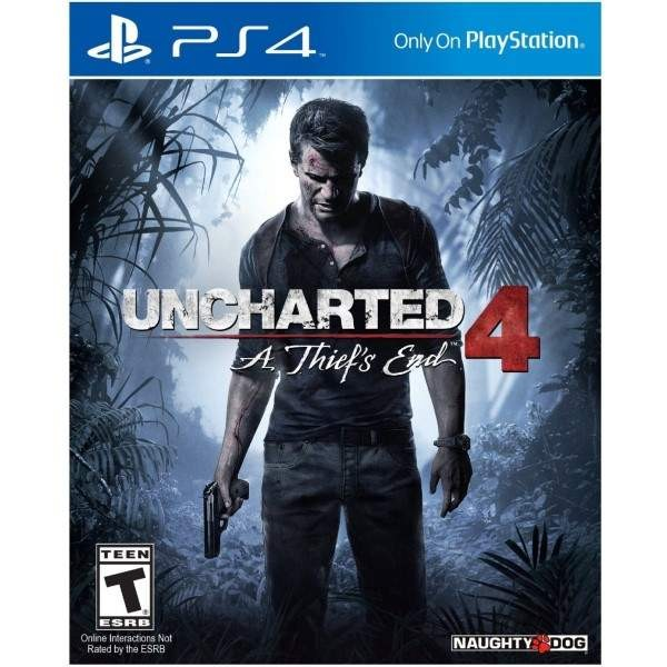 UNCHARTED 4 A THIEF S END PS4 US OCCASION