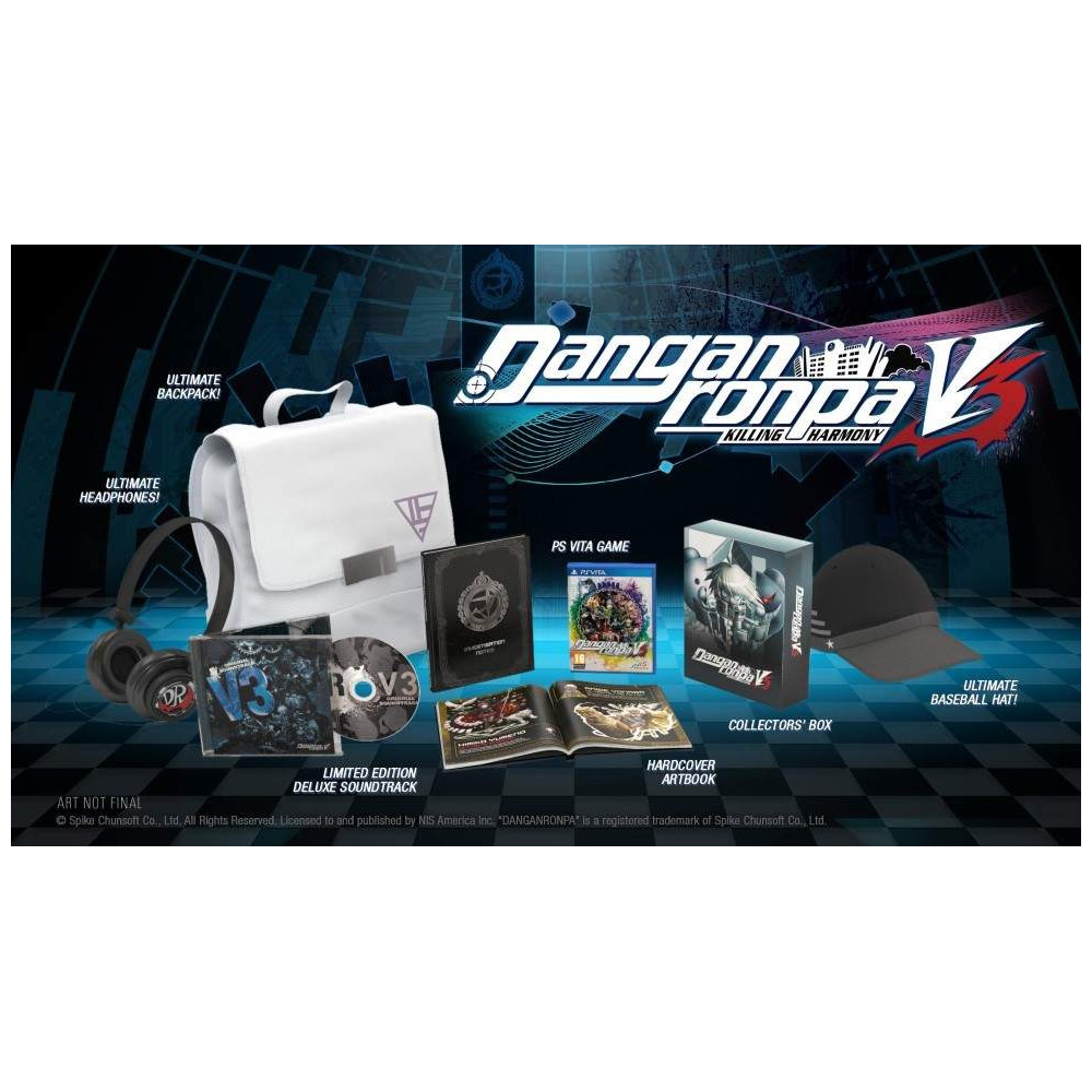 DANGANRONPA V3 KILLING HARMONY LIMITED EDITION PSVITA FR NEW