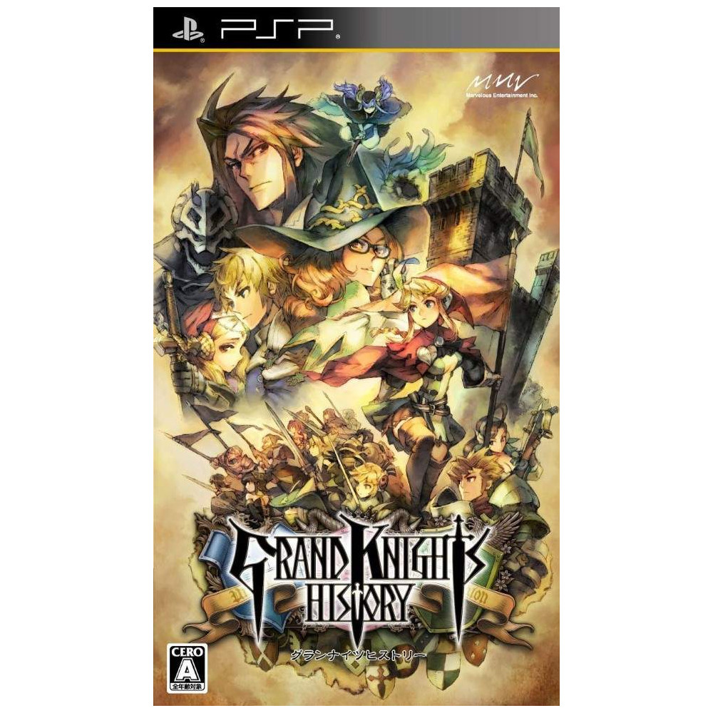 GRAND KNIGHT HISTORY PSP JPN OCCASION