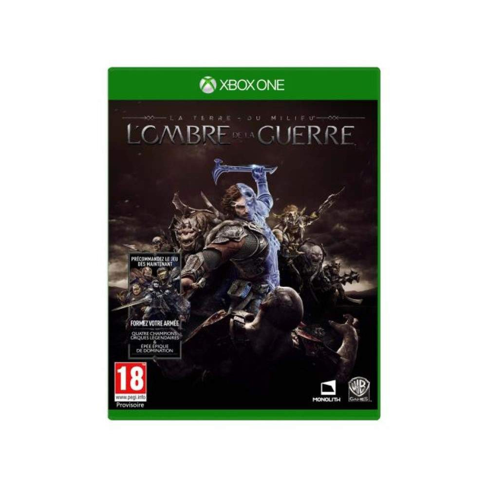 SHADOW OF WAR MIDDLE EARTH XBOX ONE UK OCCASION