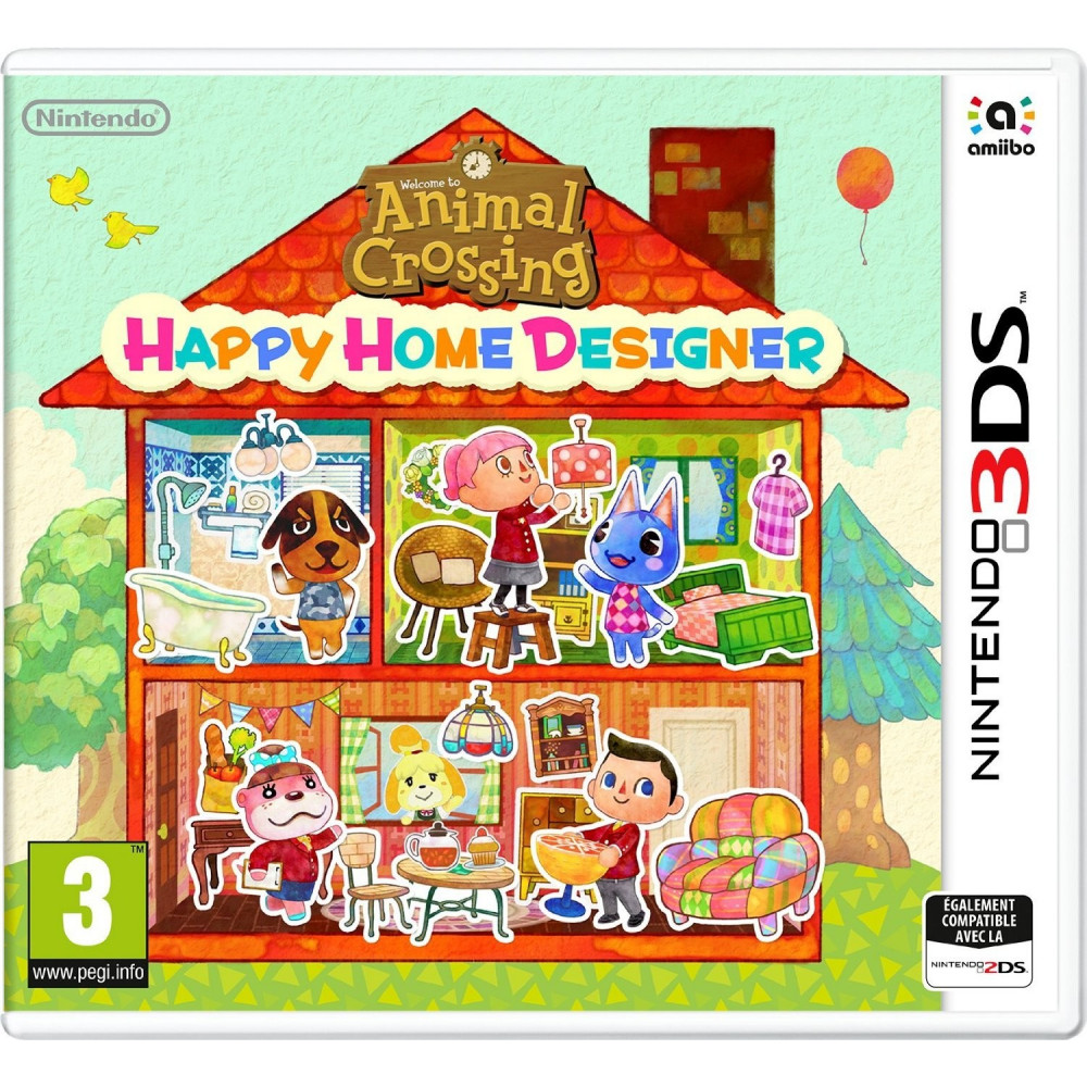 ANIMAL CROSSING..DESIGNER 3DS VF OCC