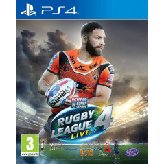RUGBY LEAGUE LIVE 4 PS4 UK NEW