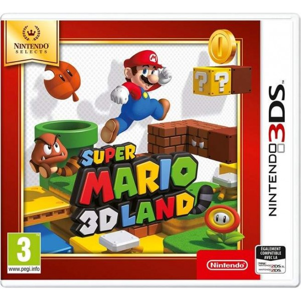 SUPER MARIO 3D LAND NINTENDO SELECT 3DS FR NEW