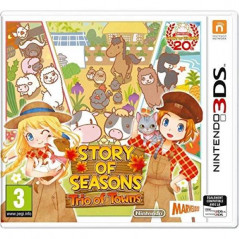 STORY OF SEASONS TRIO OF TOWNS 3DS FR NEW