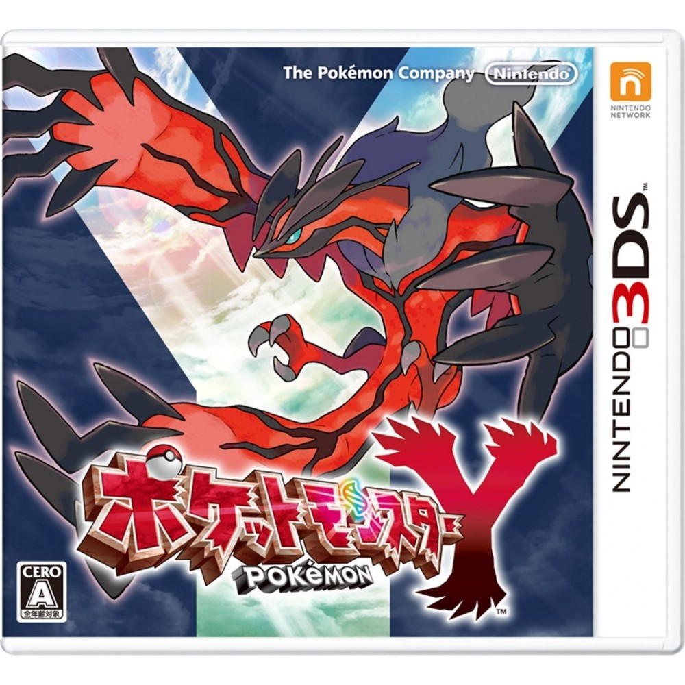 POKEMON Y 3DS JAP OCC