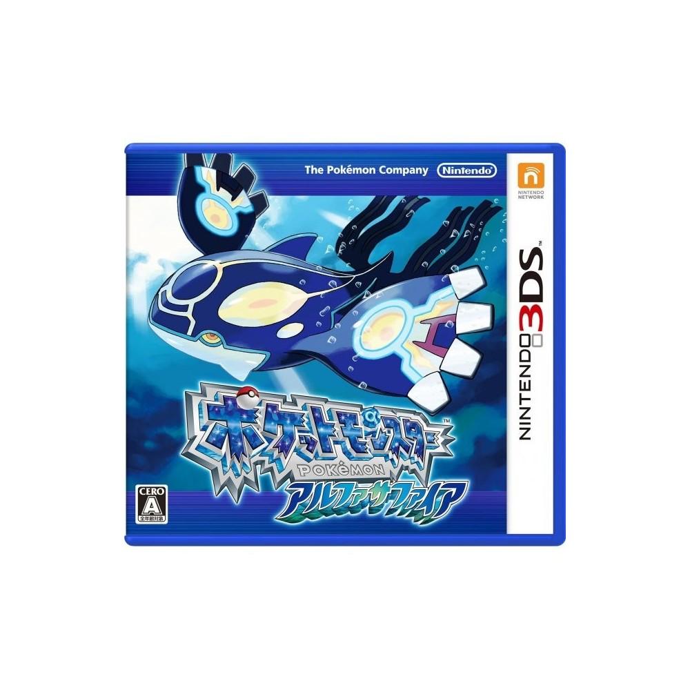 POKEMON SAPHIR ALPHA 3DS JAP OCC