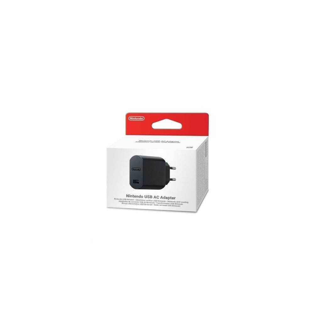NINTENDO USB AC ADAPTER EURO NEW