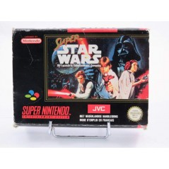 SUPER STAR WARS SNES PAL-FAH OCCASION SANS NOTICE