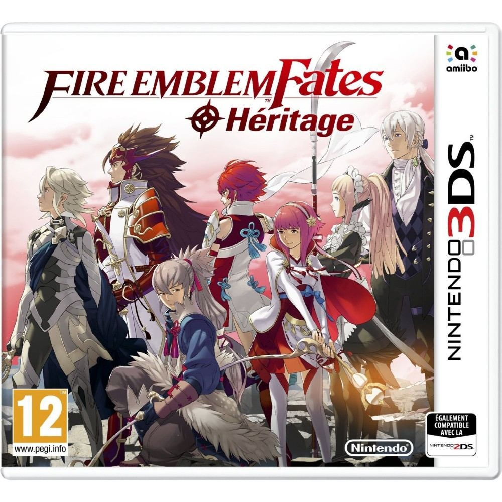 FIRE EMBLEM FATES HERITAGE 3DS UK NEW
