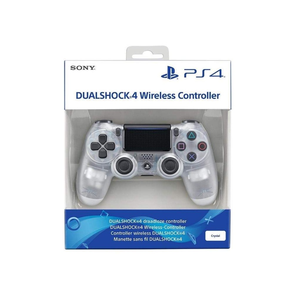 CONTROLLER DUAL SHOCK 4 CRYSTAL V2 PS4 EURO NEW