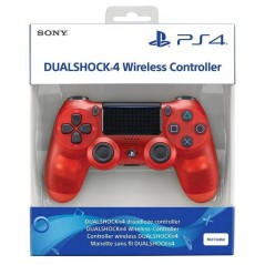 CONTROLLER DUAL SHOCK 4 CRYSTAL ROUGE V2 PS4 EURO NEW