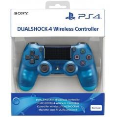 CONTROLLER DUAL SHOCK 4 CRYSTAL BLEU V2 PS4 EURO NEW