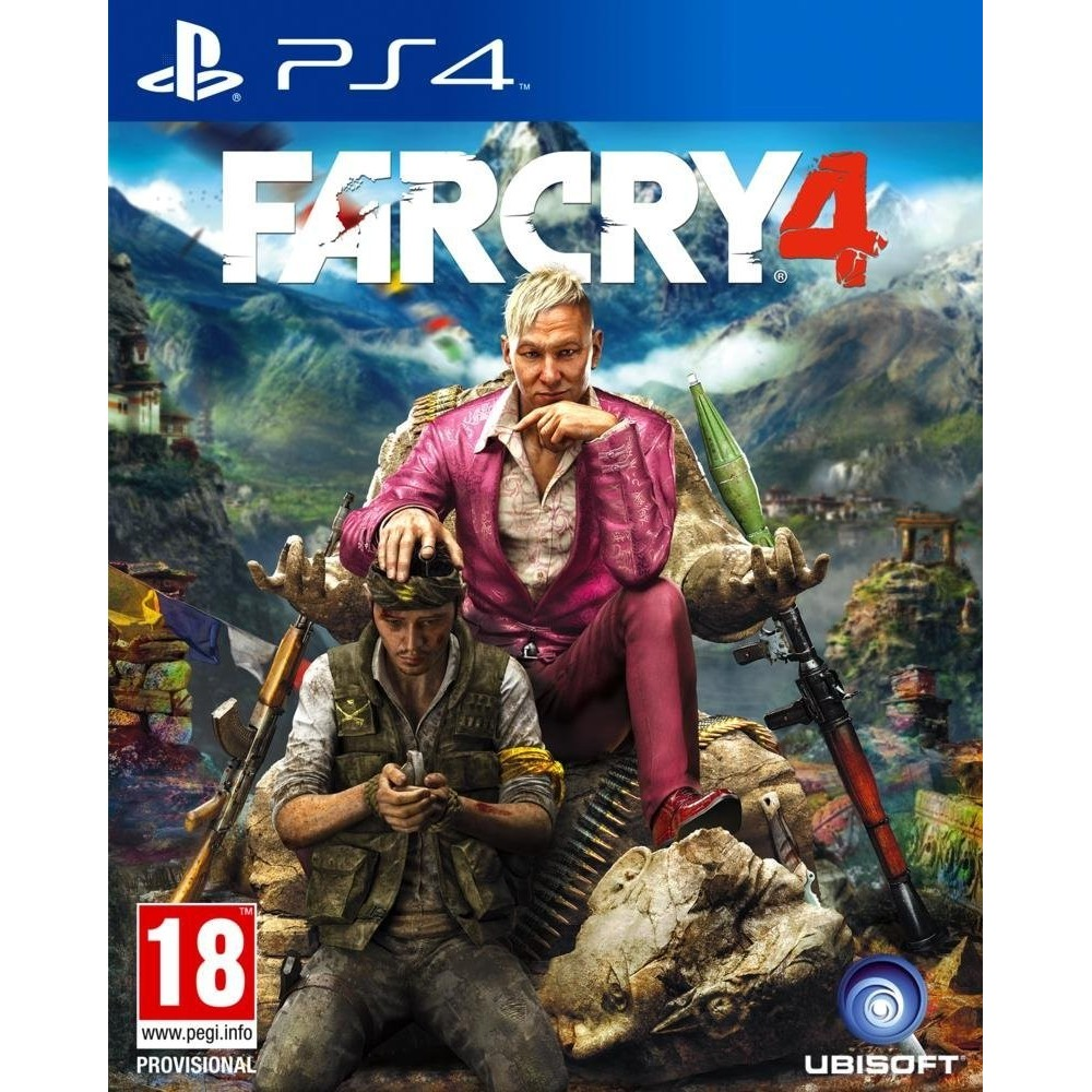 FAR CRY 4 PS4 FR OCCASION