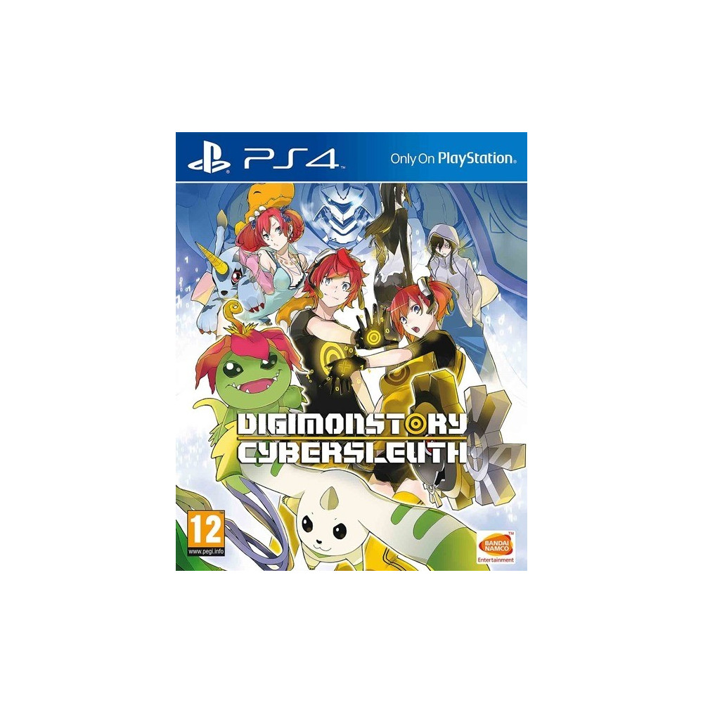 DIGIMON STORY CYBERSLEUTH PS4 ALLEMAND OCCASION