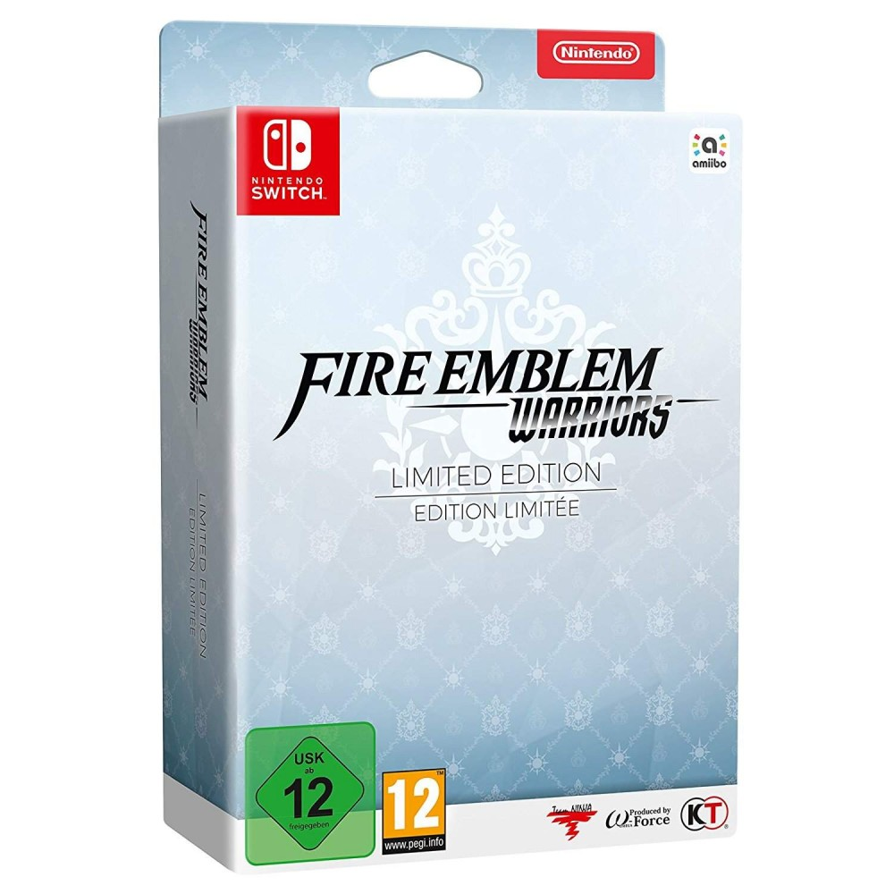 FIRE EMBLEM WARRIORS LIMITED EDITION SWITCH EURO FR NEW