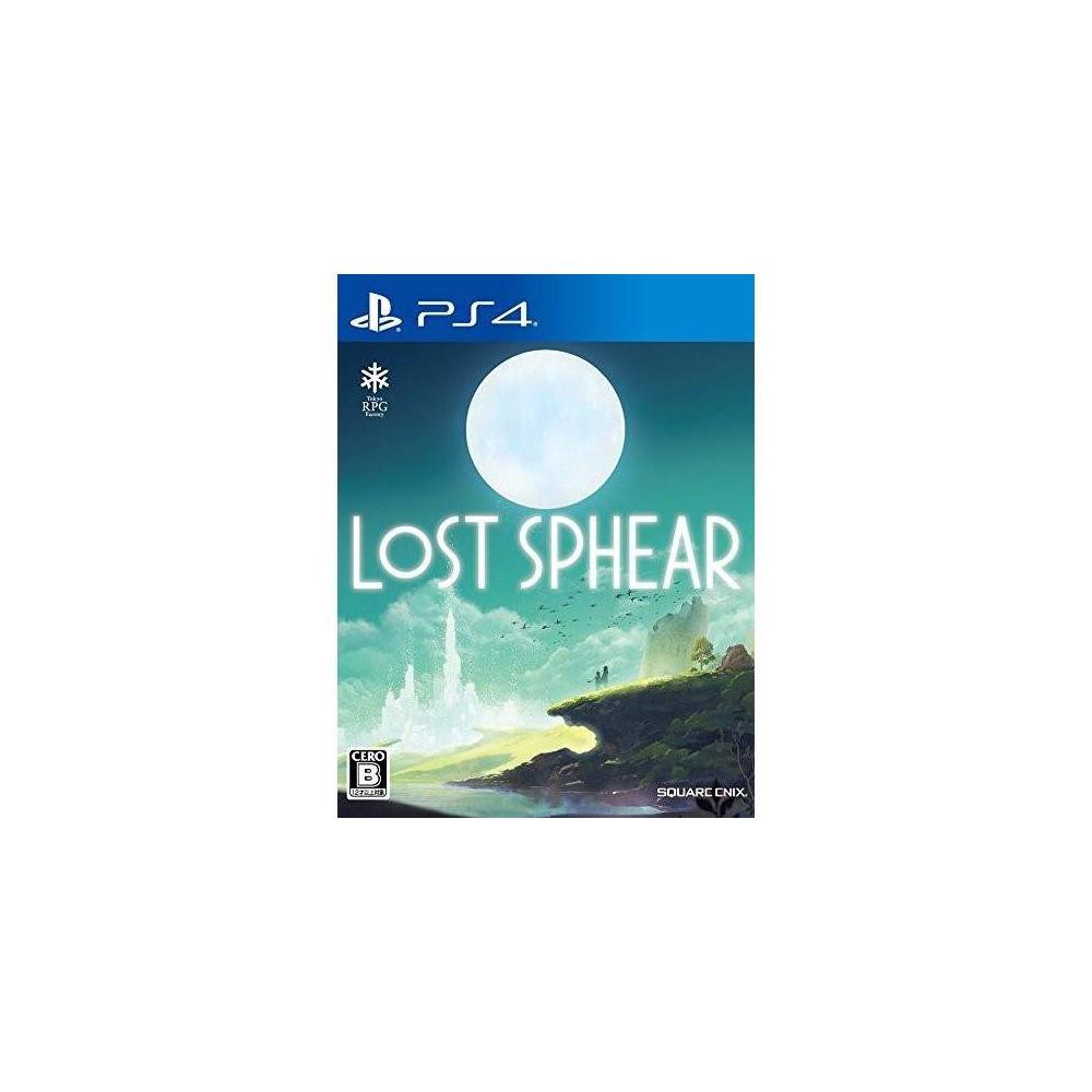 LOST SPHEAR PS4 JPN NEW