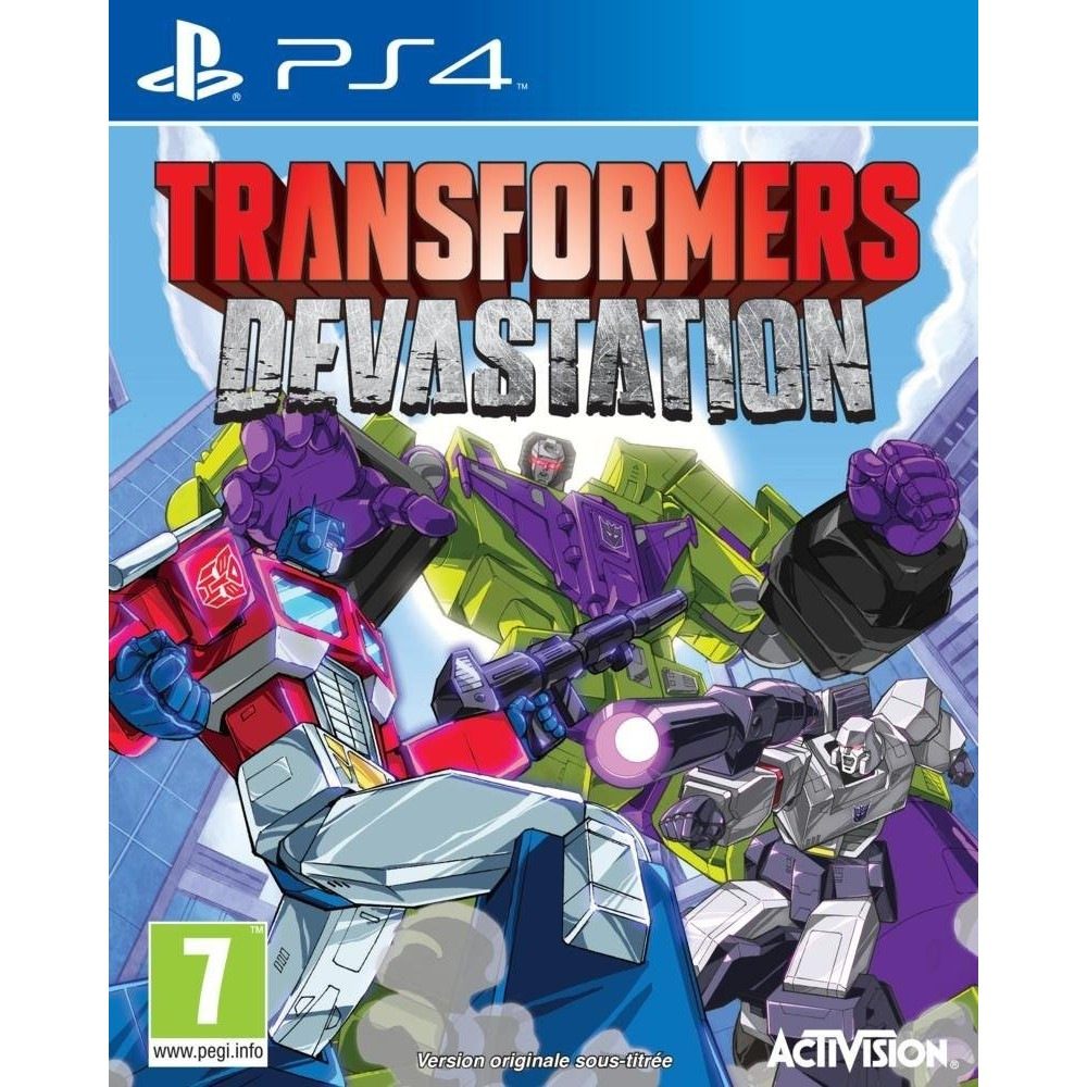 TRANSFORMERS DEVASTATION PS4 VF