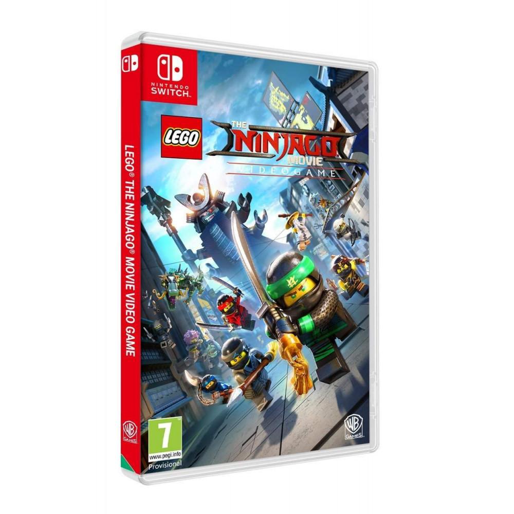 LEGO NINJAGO THE MOVIE SWITCH UK NEW