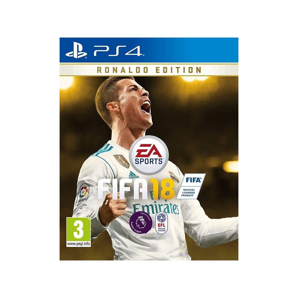 FIFA 18 RONALDO EDITION PS4 UK OCCASION
