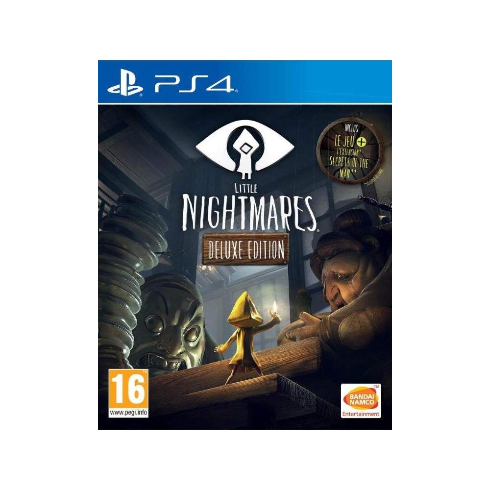 LITTLE NIGHTMARES DELUXE PS4 FR NEW