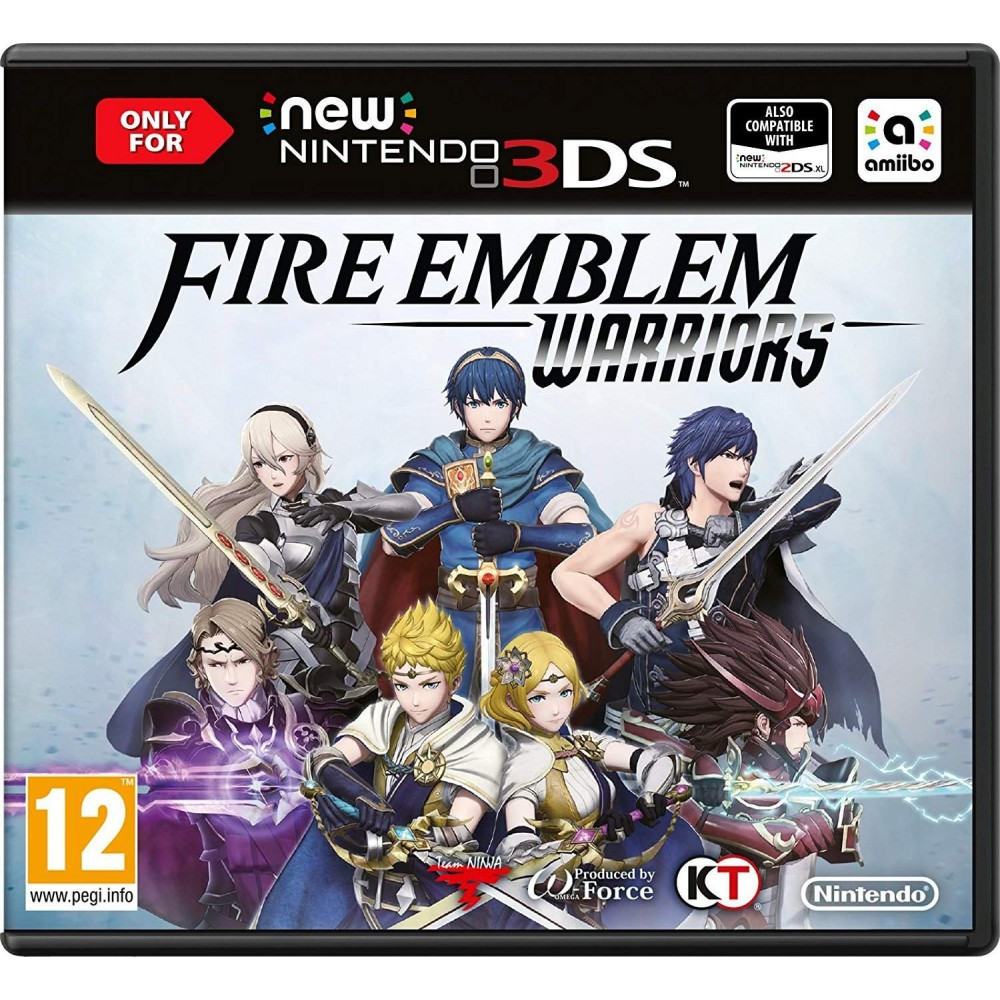 FIRE EMBLEM WARRIORS 3DS FR NEW