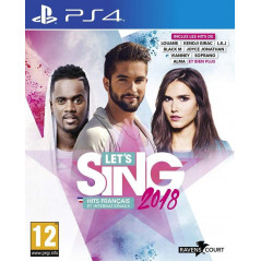 LET S SING 2018 PS4 FR NEW