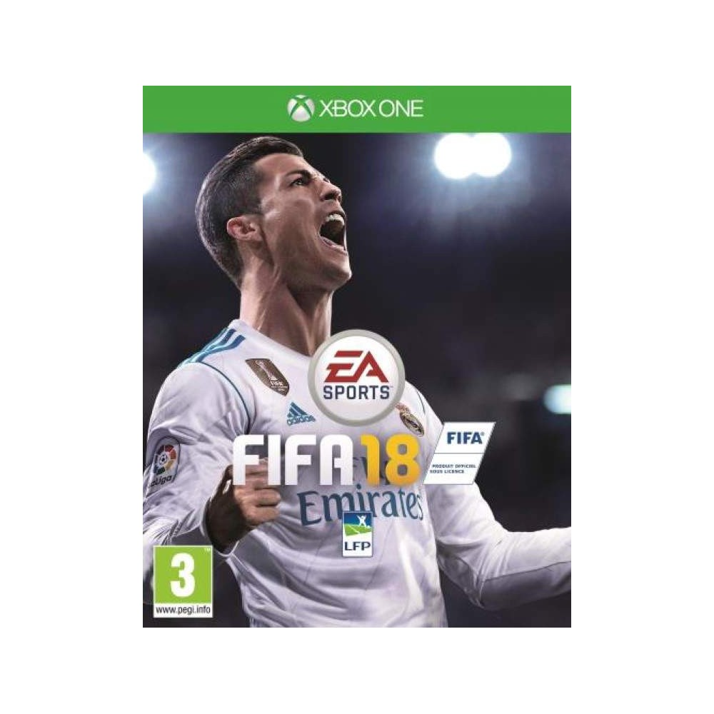 FIFA 18 XBOX ONE UK NEW