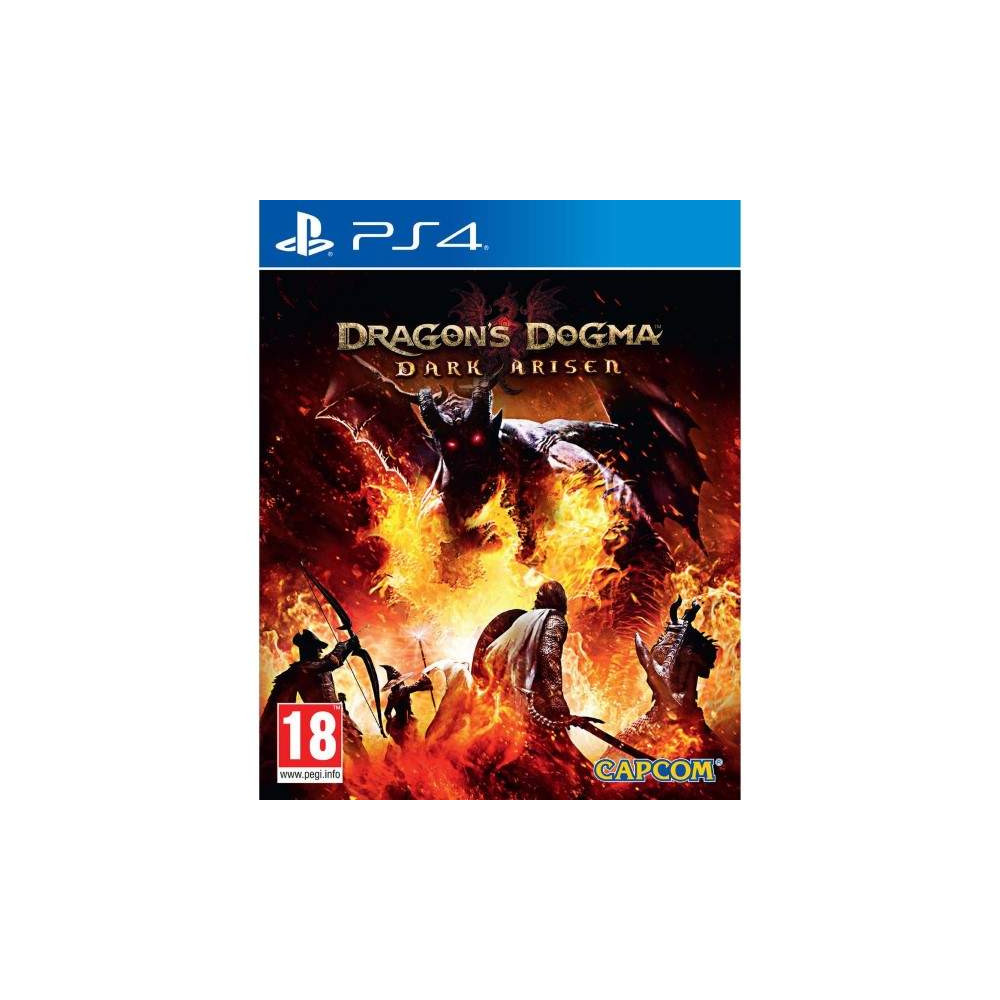 DRAGON S DOGMA DARK ARISEN PS4 UK NEW