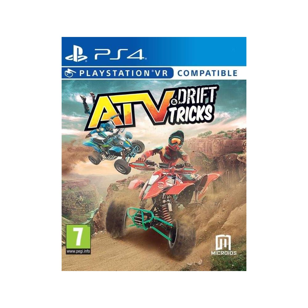 ATV & DRIFT TRICKS PS4 EURO FR NEW