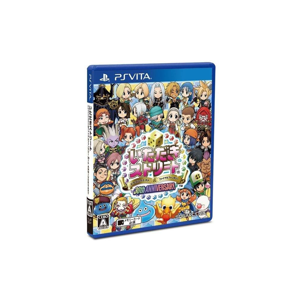 ITADAKI STREET DRAGON QUEST & FINAL FANTASY 30TH ANNIVERSARY PSVITA JAP NEW