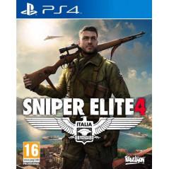 SNIPER ELITE 4 ITALIA PS4 UK NEW