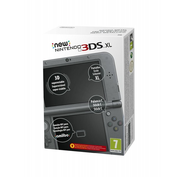 CONSOLE NEW 3DS XL NOIR EURO OCCASION