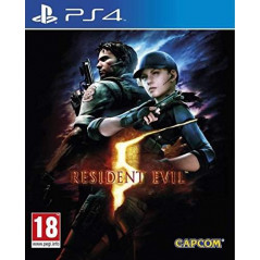 RESIDENT EVIL 5 REMASTERED PS4 ANGLAIS OCCASION