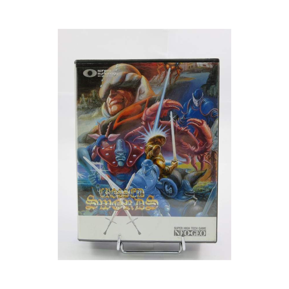 CROSSED SWORDS NEOGEO AES EURO OCCASION DOUBLE NOTICE