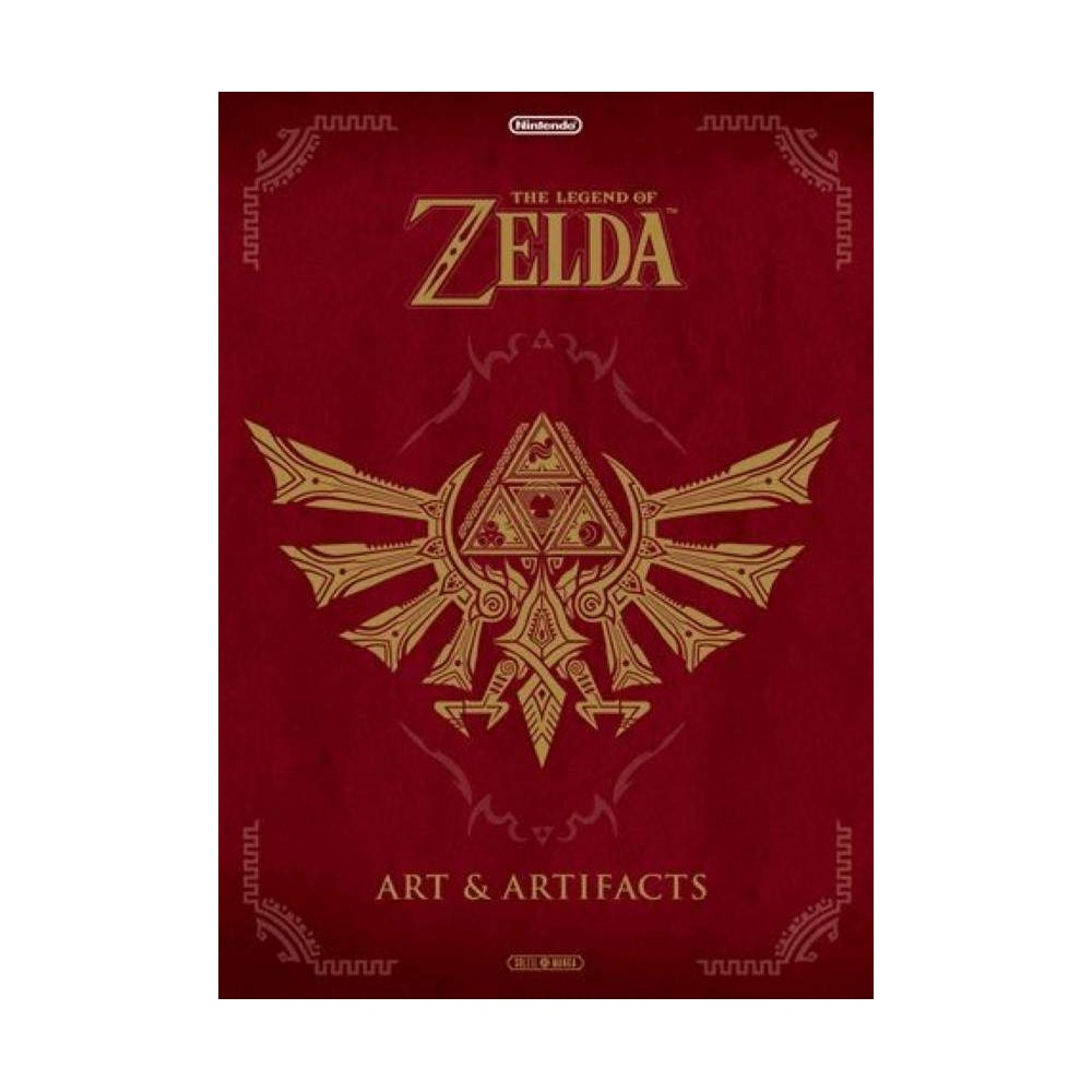 THE LEGEND OF ZELDA : ART ARTIFACTS - VERSION FRANCAISE NEW