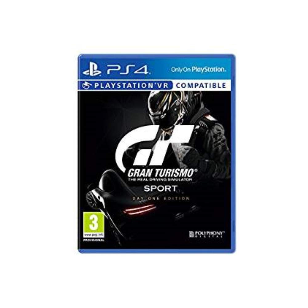 GRAN TURISMO SPORT DAY ONE EDITION PS4 UK OCCASION