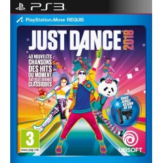 JUST DANCE 2018 PS3 FR NEW