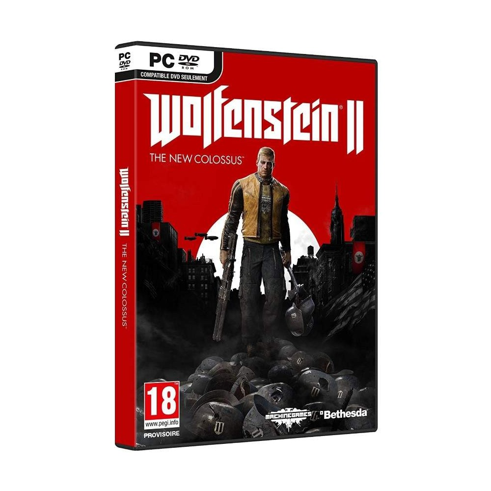 WOLFENSTEIN 2 THE NEW COLOSSUS PC FR NEW