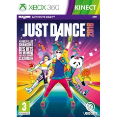 JUST DANCE 2018 XBOX 360 FR NEW
